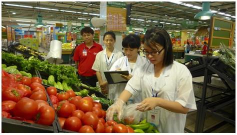 加强食品检测 保障市民安全