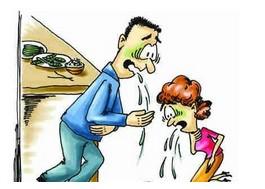 食物中毒症状