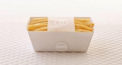 用白纸包食物