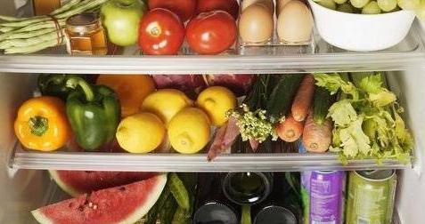 冰箱中的饭菜没有及时吃掉